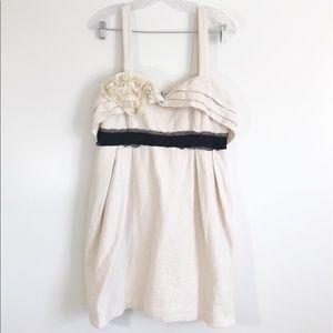 Anthropologie Deletta Breakfasting Dress sz XL